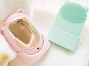 シリコン洗顔ブラシ